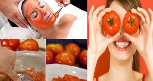 صورة الطماطم والسكر للوجه , ماسك بندورة وسكر للوجه