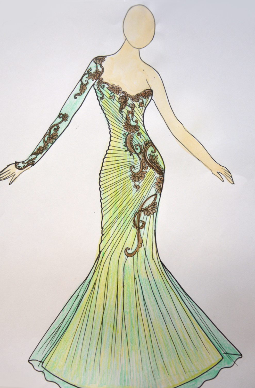 صور كيفية تصميم الازياء , تعلمي تفصيل الملابس باحترافية