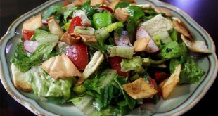 صورة اسماء اكلات لبنانية , الفتوش من اجمل اكلات لبنان