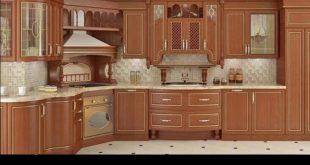 صورة أجمل المطابخ الخشبية ,مطابخ خشب