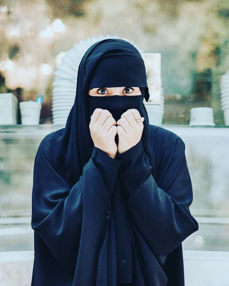 صورة اشكال رائعة من النقاب ،صور نقاب