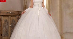 صورة اجمل فساتين الزفاف للعروس ،صور فساتين اعراس
