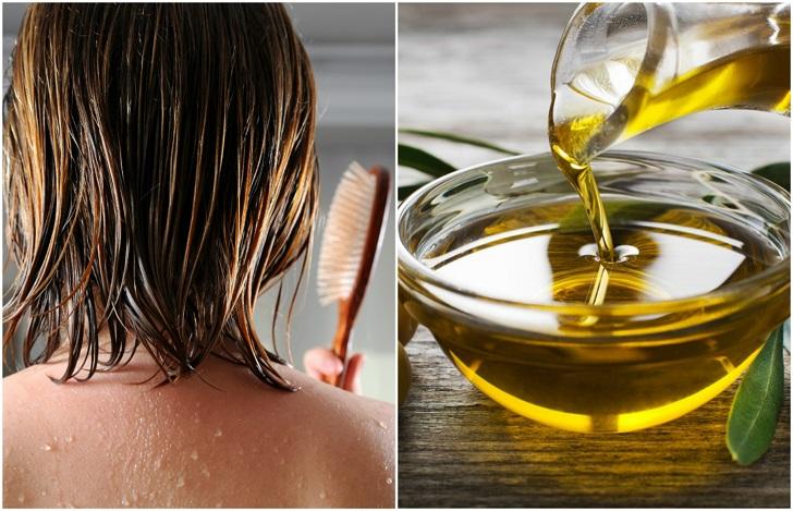 صورة فوائد زيت الزيتون للشعر , وصفة سحرية لزيادة كثافة الشعر بزيت الزيتون